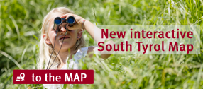 Interactive online map of South Tyrol